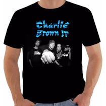 Camisa Camiseta Baby Look Regata Charlie Brown Jr Chorão