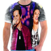 Camiseta Do Matheus E Kauan Musica Estampada Sertanejo 2
