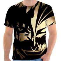 Camiseta Camisa Masculina Anime Otaku - Bleach 04