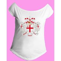 Camiseta Feminina G. Canoa Inglaterra Reino Unido Londres 02