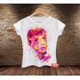 Camiseta Feminina Babylook Audrey Hepburn Bonequinha De Luxo