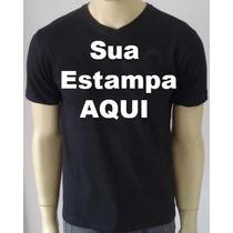 Camisas Personalizadas Com A Sua Estampa ( Frete Grátis)