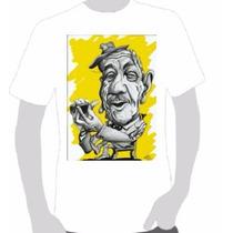 Camisetas Estampa Adoniran Barbosa 02- Escolha Em Perguntas