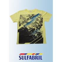 Camiseta Sulfabril - T4542 - Meia Malha Lisa 100% Algodão