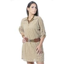 Vestido De Lese Liso #ref: 2590