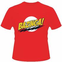 Camisa Camiseta Bazinga Sheldon Big Bang Theory Engraçada