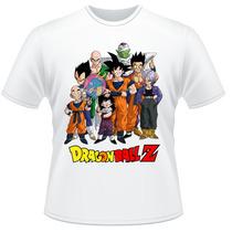 Camiseta Infantil Dragon Ball Z Anime Desenho Camisa #3