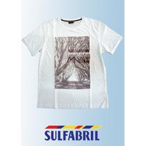 Camiseta Sulfabril - T2902 - Meia Malha Lisa 100% Algodão