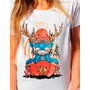 Camiseta Feminina Smurf Is Cruelest Animal