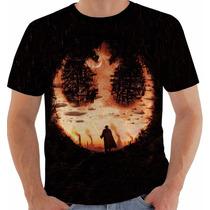 Camiseta Star Wars - Guerra Nas Estrelas - Aliança Rebelde