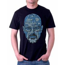 Camisa, Camiseta Breacking Bad, Heisenberg