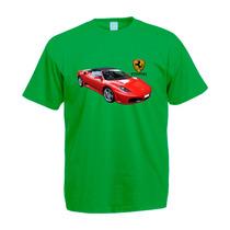 Camisa Camiseta Blusa Colorida Ferrari