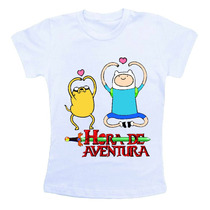 Camiseta Infantil - Hora De Aventura