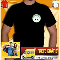 Camiseta Bordada Matematica Camisa Curso Universitaria