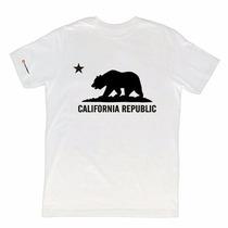 (2) Duas Camisetas Yourself California Republic - Importada