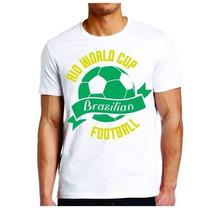 Promoção! Camiseta Rio World Cup Masculina