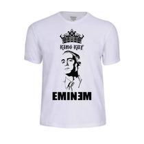 Camisas Eminem Rap Rapper Banda Cantor Camisetas King Rock