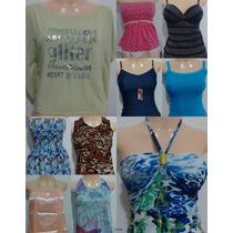 10 Blusas Vários Modelos - Kit Lote Atacado