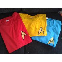 Camiseta Bordada Star Trek