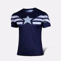 Camiseta Marvel / Vingadores Capitão América - Steve Rogers