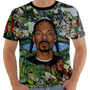 Camisa Camiseta Regata Snoop Dogg Gangsta Hip Hop Color
