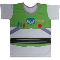 Camiseta Infantil Do Buzz (toy Story)