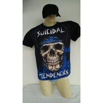 Camiseta - Suicidal Tendencies - Bandas De Rock - Megaforce