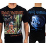 Camiseta De Banda - Iron Maiden - Somewhere In Time