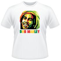 Camiseta Camisa Bob Marley