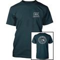 Camiseta Glock Com Logo Nas Costas, Turma Airsoft, Paintball