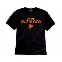 Camiseta Acampamento Meio Sangue