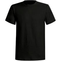 10 Camisetas Preta Lisa Tamanhos Diversos