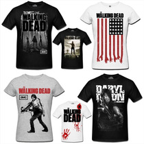 Camiseta The Walking Dead - Camisetas The Walking Dead
