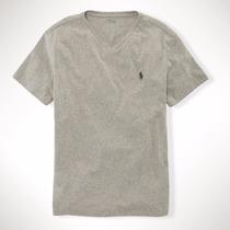 Camiseta Gola V Polo Ralph Lauren Tamanho G