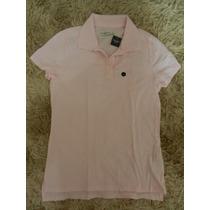 Camiseta Polo Fem. Abercrobie & Fitch G - Original