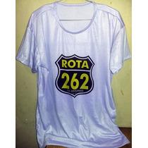 Camiseta Rota 262 Roxo Claro Tradicional Ou Babylook