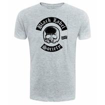 Black Label Society - Camiseta Cinza - Rock Banda Camisa