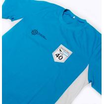 Camiseta Bicolor - Estampa Rota 40 - Fr030