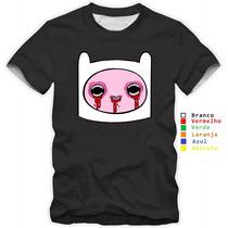 Camisetas Baby Look Infantil Hora De Aventura Finn Jake