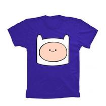 Camiseta Finn Hora De Aventura - Jake Cod 175 Algodão 100%