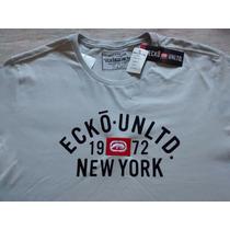 Camiseta Ecko Cinza,linda,original, Nova, Muito Barato!