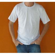 Camisetas De Algodão Lisas Fio 30.1