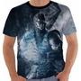 Camiseta Babylook Regata Game Mortal Kombat X Sub Zero Color