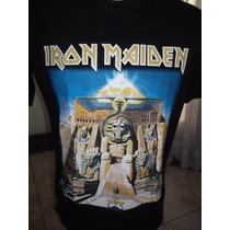 Camisa Do Iron Maiden 100% De Qualidade Grata............