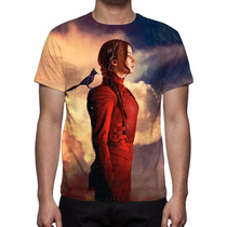 Camisa, Camiseta Jogos Vorazes A Esperança Parte 2 O Final