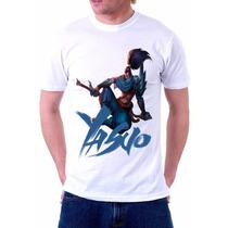Camiseta Yasuo Game League Of Legends
