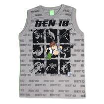 Camiseta Regata Ben10 Malwee - Tamanho 12