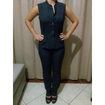 Conjunto Social Feminino Importado Zoompy ( Calça E Blusa )