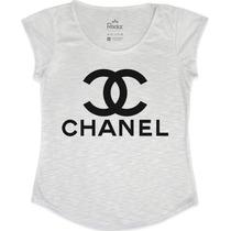 T-shirt Feminina Chanel Fake