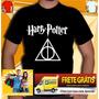 Camiseta Harry Potter Camisa Filme Harrypotter Fenix Calice